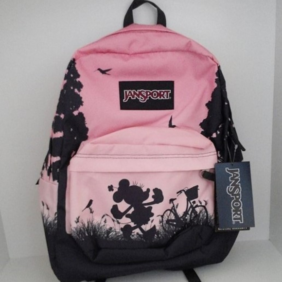 c390b163e4d Disney JanSport High Stakes Minnie Mouse Backpack